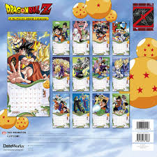 Source material scenes/info that were left out of the anime are still spoilers. Dragon Ball Z 30th Anniversary 16 Month 2020 Anime Images Wall Calendar Sealed Starbase Atlanta