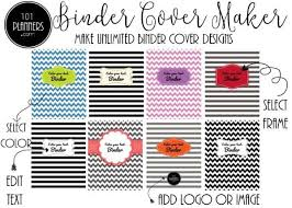 create binder cover free binder cover templates customize online print at home free