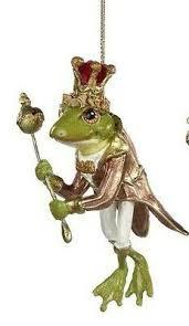 Christbaumschmuck Xmas Frosch Glas Goodwill Eur 1790