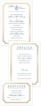 165 best affordable wedding invitations images on pinterest Affordable Wedding Invitations Columbus Ohio gold frame all in one invitation affordable wedding Wedding Cakes Columbus Ohio