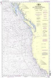 Noaa Chart 501 North Pacific Ocean West Coast Of North America Mexican Border To Dixon Entrance