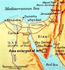 Map Of St Catherines Monastery In Sinai Egypt Egypt