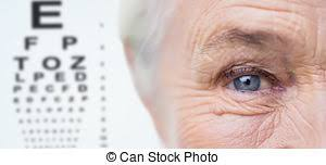 Age Vision And Old People Concept Close Up Of Senior