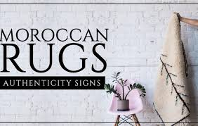 moroccan rug and its authenticity signs