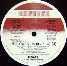 Legacy - The Groove Is Here [RECORD STORE ROOM]