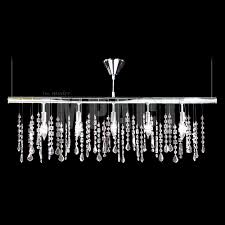 james moder 40740s22 crystal contemporary impact linear chandelier