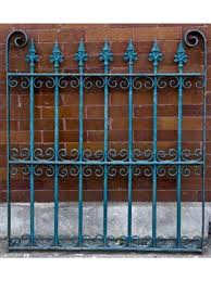 wrought iron fence victorian. 1880\u0027s Vintage Salvaged Chicago Antique Victorian Era Ornamental Wrought  Iron Fence E