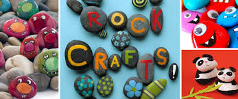 cool and fun projects to do at home. rock art projects for kids cool and fun to do at home w