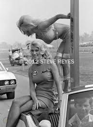 1969 Indy Miss Hurst Linda Vaughn and Marsha Bennett | #407214146