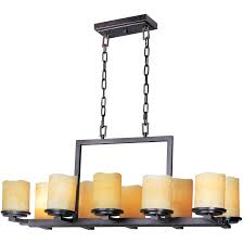 full size of living decorative rectangle candle chandelier 6 106491 rectangular candle chandelier