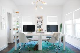west elm office. White Desks - Designing A Studio Space From Scratch By Camille Styles | West Elm. \u201c Elm Office H