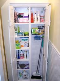 broom pantry cabinet cabinets with storage tall closet shelves post