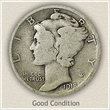 Dime Value Chart Your 1917 Dime Value Ranges Between Zs Mer D1 Shtml
