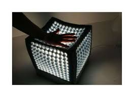 cubism furniture. spongy soft lighting shapeshifting cubeme lamp is recyclable cubism furniture