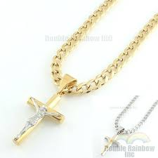 stainless steel cross chain stainless steel cross chains chain mens