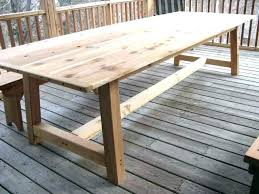 dining tables build outdoor dining table rustic furniture for use medium size of white easy