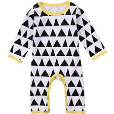 Amazon Com Annvivi Toddler Baby Boys Girls Cotton Romper