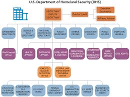 Dhs Org Chart Department Of Homeland Org Chart
