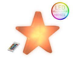 Led Multicolor Weihnachtsstern Kabellos Star 40