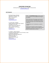 How To Write A Reference Page For A Resume Resume For Your Job