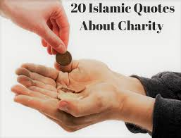 Charity Quotes Classy 48 Islamic Quotes On CharityAayahs And Hadiths On Sadqah