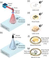 Use Of A Single Xenon Flash Lamp For Photoacoustic Computed