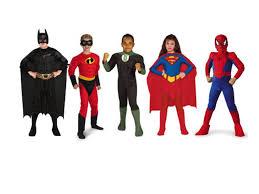 Image result for kids dressed as superheroes