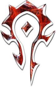 World of Warcraft Logo Horde Symbol Awesome World of Warcraft Horde ...