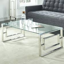stainless steel coffee table stainless steel coffee table modway gridiron stainless steel coffee table with tempered