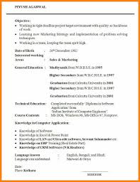 Cv English Example Student Sample Graduate Student Resume Template