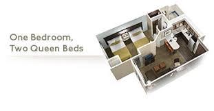 One Bedroom Suite  Picture Of Staybridge Suites Bowling Green Staybridge Suites Floor Plan
