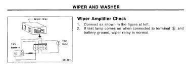 240sx windshield wiper wiring diagram wiring diagrams windshield wiring help motor wiring diagram on schematic wiper