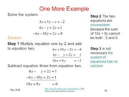equations has no solution 42 rev s08 one more example faculty valenciacc edu