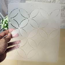 KiWarm DIY Semi transparent Coins Shape Stencil Plastic Quilting ... & aeProduct.getSubject() Adamdwight.com