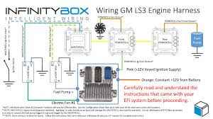 ls3 • infinitybox how to connect engine harness to infinitybox system gm ls3 wiring