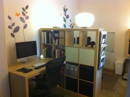 home office small shared. Home Office : Small Space Solutions Room Divider Creates Shared With Regard To Terrific For Your Residence Design M