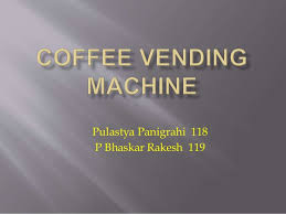 Ice Vending Machine Business Plan Magnificent Business Proposal For Coffee Wending Machine