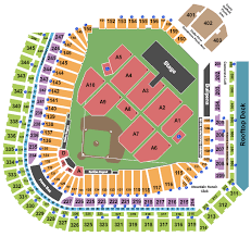 Coors Field Seating Charts For All 2019 Events Ticketnetwork