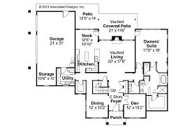 traditional house plans. Traditional House Plan - Fairbanks 30-648 1st Floor Plans