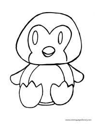 Cute Baby Penguin Coloring Pages Get Coloring Pages