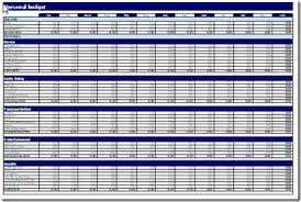 Monthly Personal Budget Spreadsheet 10 Free Household Budget Spreadsheets For 2019