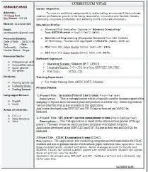 1 Page Resume Magnificent Best One Page Resume Template Download 48 Single Sample Cute