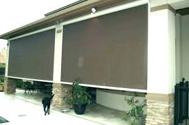 patio ler blinds cape town outdoor l up inspirations porch with great astonishing roll for doors