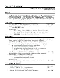 An Example Of A Good Resume. Free Resume Examples By Industry Job ...