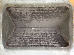 ac coil cleaner. dirty ac evaporator coil before clean up ac cleaner