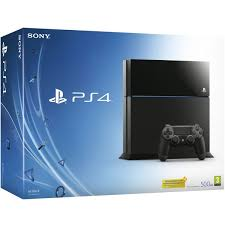 sony ps4 console. sony playstation 4 500gb console - black ps4 e