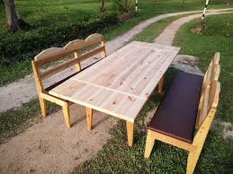 diy pallet outdoor dinning table. recycled pallet outdoor dining set diy dinning table e
