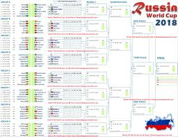 World Cup Chart Pdf Fifa World Cup 2018 Schedule Pakistan Time Pst