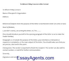 to whom it may concern cover letters whom may concern letter format letter template