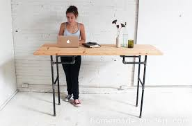 they spent the time to put together the simplest standing desk design here you can make any height table stool or chair with these same techniques